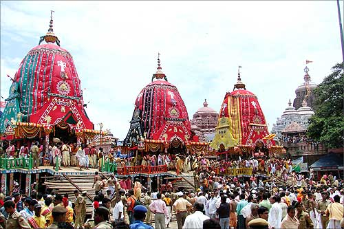 Festivals of India, Puri chariot festival, Indian tourism