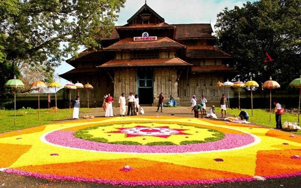 onam celebration in Kerala, pookalam designs, kerala festivals