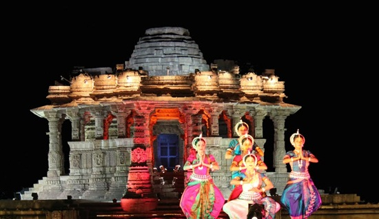 Modhera Dance Festival Gujarat, dance and music festivals of India, culture of gujarat