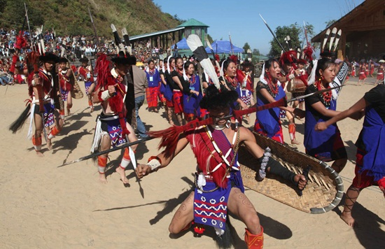 Tribal festivals of Nagaland, Hornbill festival of Nagaland, winter festivals of India