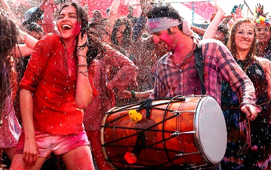 where to celebrate holi in India, holi festival celebrations in Delhi, Bollywood holi songs