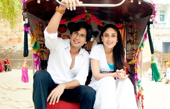 shooting locations of jab we met, bollywood movies of love during travel