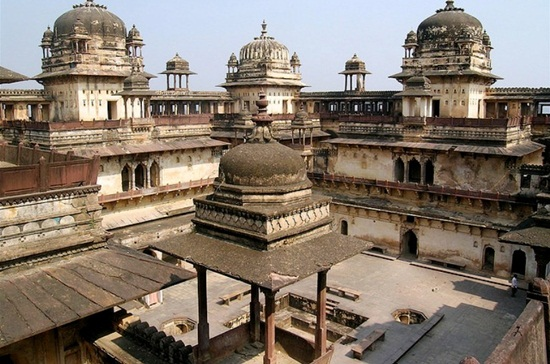 Orchha fort, things to see in Orchha, best things to see in Bundelkhand, Madhya Pradesh tourism