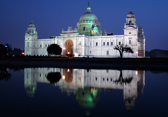 kolkata heritage buildings, world heritage sites in India, victoria memorial kolkata