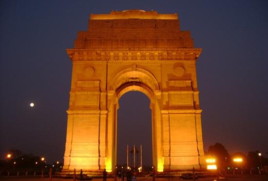 New Delhi India Gate, world heritage sites in India, war memorial in Delhi