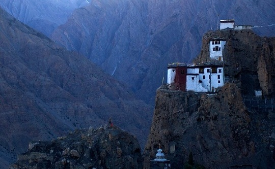 popular ladakh monasteries, shey monastery in leh