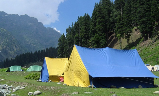 camping in kashmir adventure travel tips, best camping destinations in india