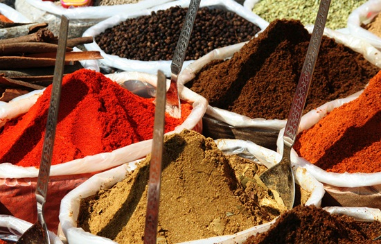 Goan spices, goan spice markets, cuisine of goa, goa food blogs