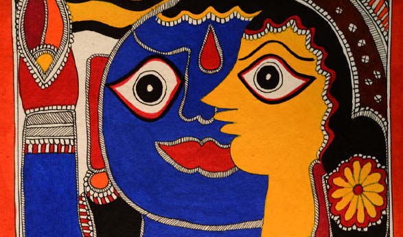 themes of madhubani paintings, Indian rural tourism, Bihar tourism, Indian culture & heritage