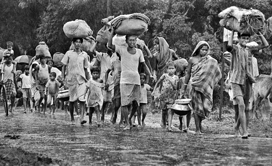 stories of Calcutta, refugees in Calcutta during liberation war, events in Calcutta of 1960s