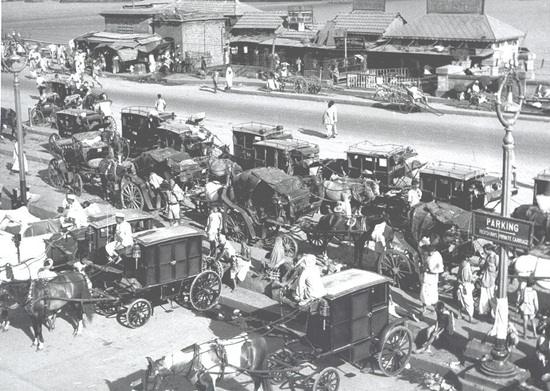 pictures of Calcutta in 1960s, transport in Calcutta in 1950s