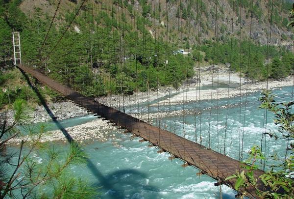 hanging bridges in Arunachal Pradesh, stories of travel to India