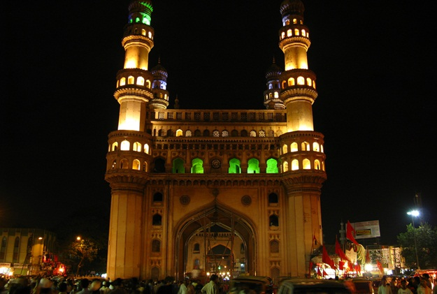 Hyderabad tourist attractions, history of Charminar