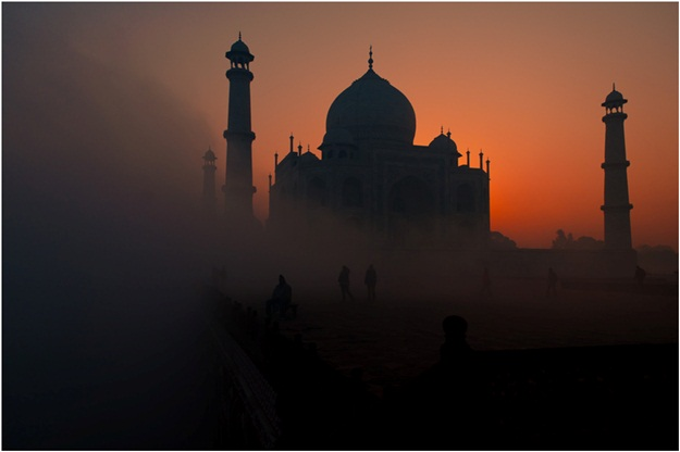 Popular quotes about Taj Mahal, Taj Mahal in morning