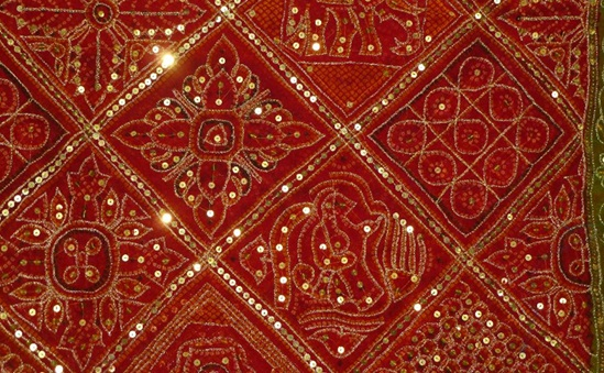 Gujarati Textile Handicraft Is Rich Elegant Amp Flamboyant