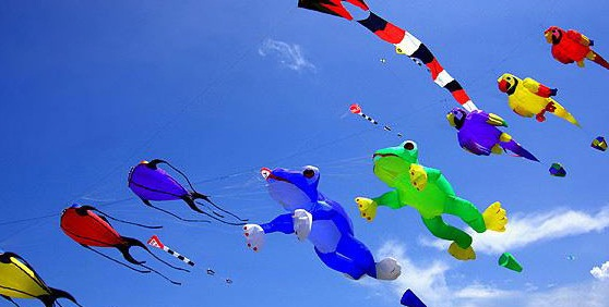 Details of kites flying festival in Gujarat, Festivals of Gujarat