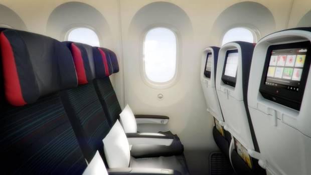 air canada economy class details, air canada boeing 787 dreamliner