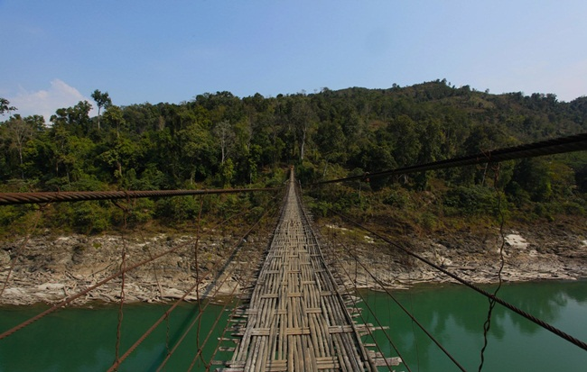 Arunachal Pradesh bridges, Northeast India places, Pangsau Pass Winter Festival