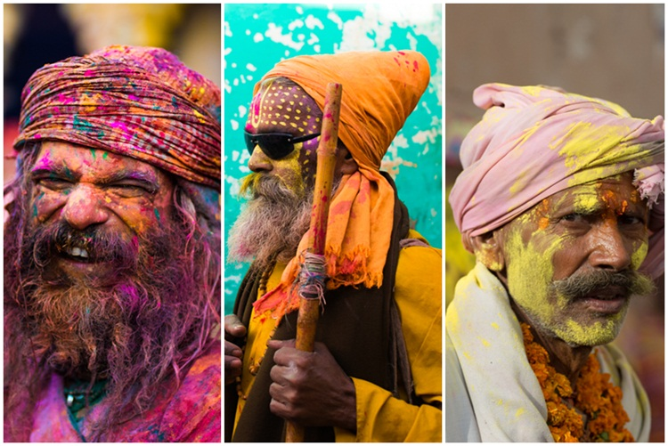 Vrindavan holi festival, India holi celebration, colors of India, IndianEagle travel
