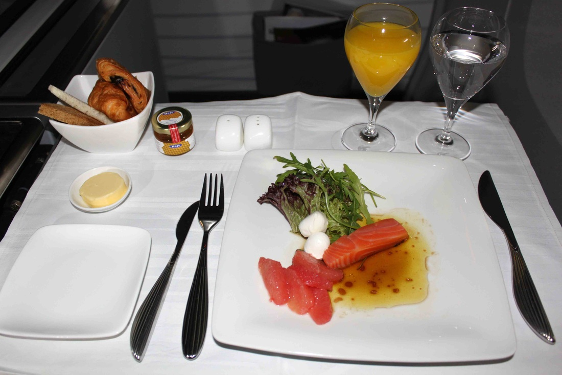 Qatar Airways Inflight Meals Airline Dining Menus