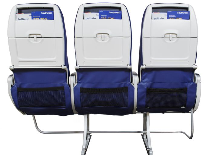 Southwest airlines wider seats, USA airlines, Economy class seats