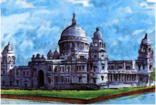 Kolkata pictures, Victoria Memorial paintings, kolkata travel stories, IndianEagle travel