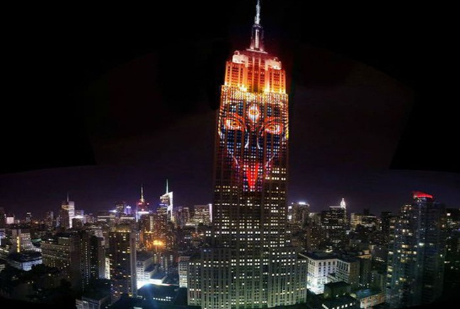 Goddess Kali on Empire State Building, new york City, United States, wildlife conservation, social initiatives, IndianEagle Travel