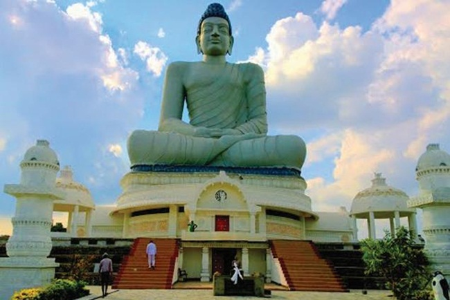buddhism in amaravathi, new andhra pradesh capital, Indian eagle travel