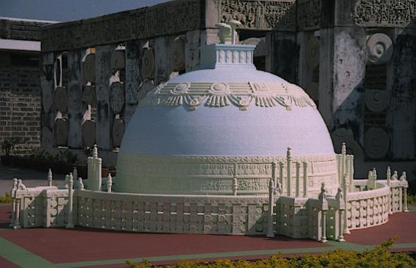 Buddha stupa in Amaravathi, capital of andhra Pradesh, Indian Eagle travel