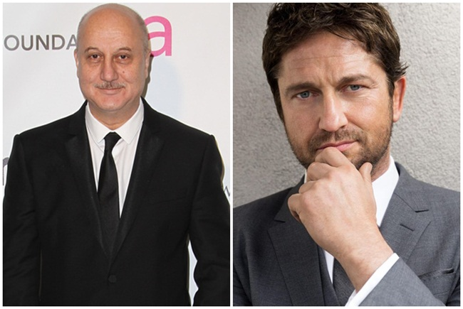Anupam Kher in new Hollywood film with Gerald Butler