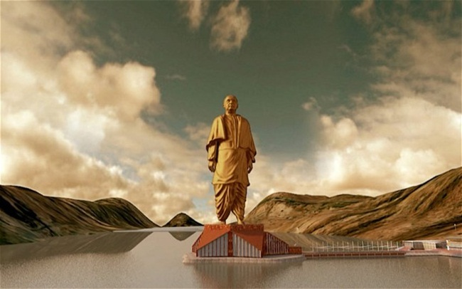 statue of unity gujarat, world's tallest statue, tourist attractions in India