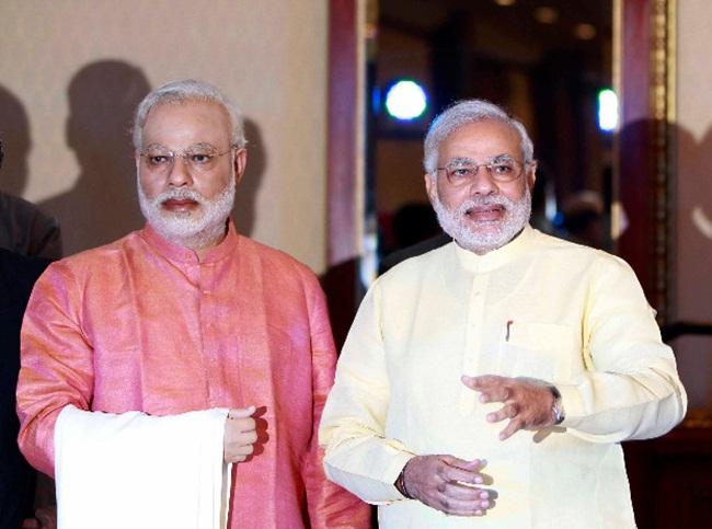 Narendra Modi news, Modi fashion, Modi jackets, Narendra Modi wax statues, Madame Tussauds musuems, Modi Kurtas