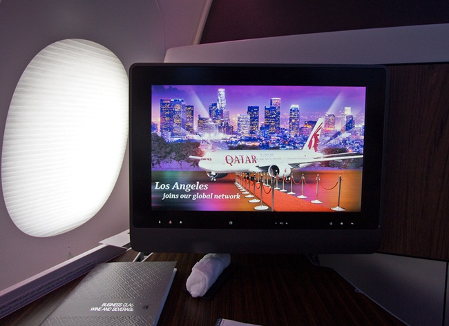Qatar Airways flights, Inflight entertainment system, USA to India cheap flights, best inflight services