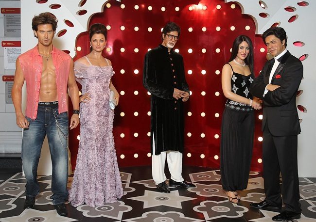 Madame Tussauds USA, Washington DC events, Bollywood stars, Amitabh Bachchan wax statues, News for NRIs