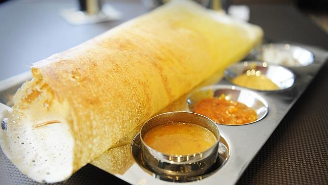 Saravanaa Bhavan NYC, best Indian restaurant NNYC, Dosa in New York City