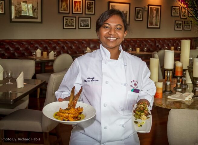 chef aarthi sampath, junoon new york, Indian American chefs, NRI news