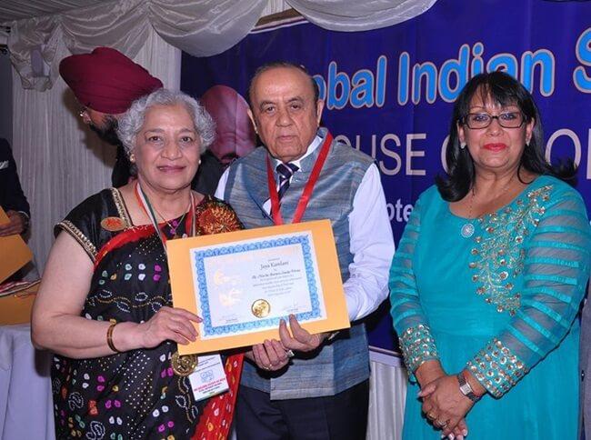 Atlanta Indians, Author Jaya Kamlani, Mahatma Gandhi Pravasi Samman Medal, NRI news, Indian Americans