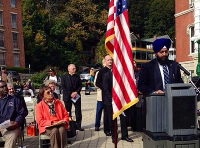 Indian American Sikhs, Sikhs in USA, Swaranjit Singh Khalsa, Norwich Sikh awareness day