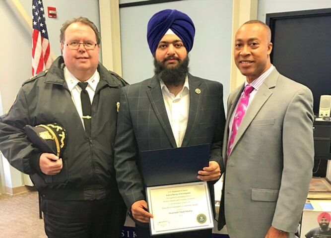 Swaranjit Singh Khalsa, Connecticut Indians, Sikhs in USA, hate crimes in America