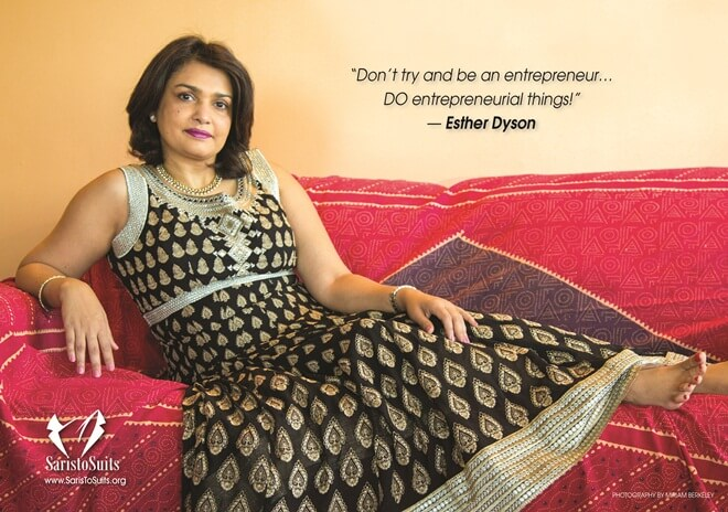 Roopa Unnikrishnan, Chennai NRIs, New York Indians, Saris to Suits Calendar