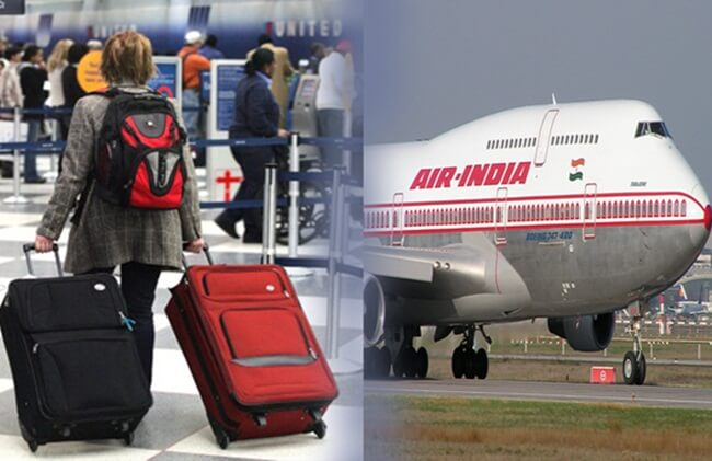 Air India flights, Washington to Delhi flights, cheap flights to India, Air India baggage allowance, Indian Eagle travel