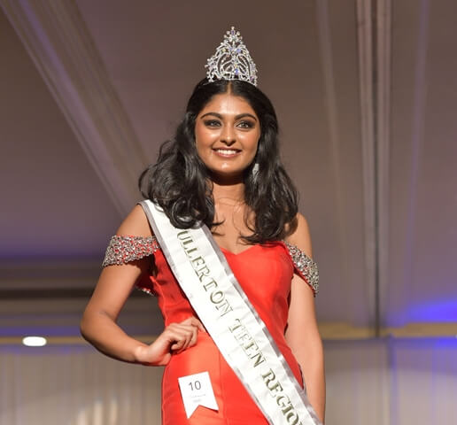 Miss Fullerton Teen USA, California news, Indians in California, Henna Sanghvi Fullerton