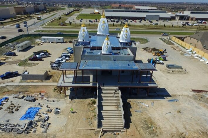 Dallas Radha Krishna Temple, Dallas Texas news, Dallas Indian temples, Texas Indian events