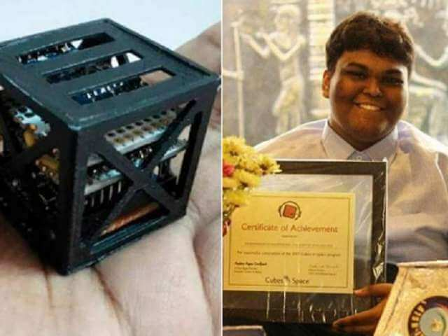 KalamSat, world's lightest satellite, Rifath Sharook, young achievers, young Indians