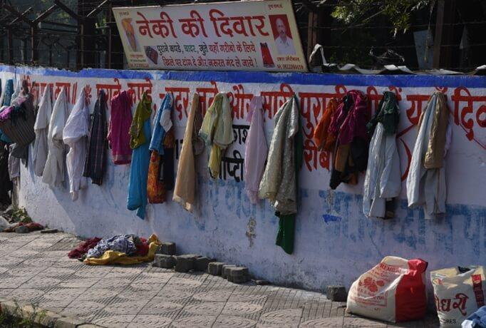 Neki ki Deewar india, Wall of Kindness in India