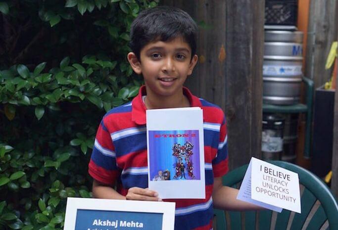 Super Mouse author, Akshaj Mehta Sacramento, California Indians, NRI news