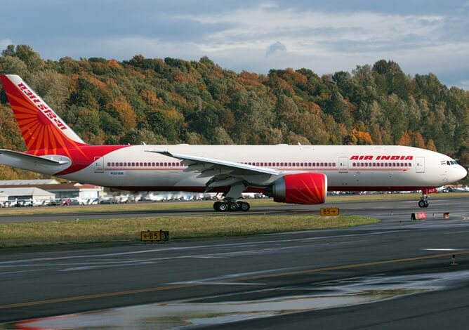 Air India flight deals, cheap Atlanta flights to India, Indian Eagle travel booking, nonstop Air India flights