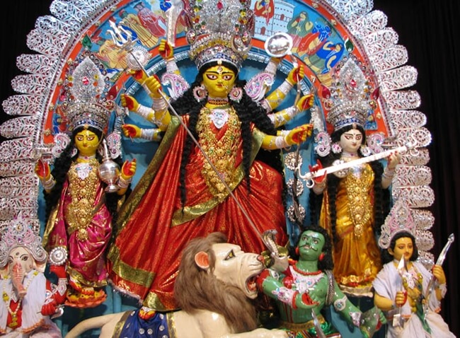 Durga puja 2017, Durga Puja in USA, Bengalis in USA, Indian events USA, Indians in USA