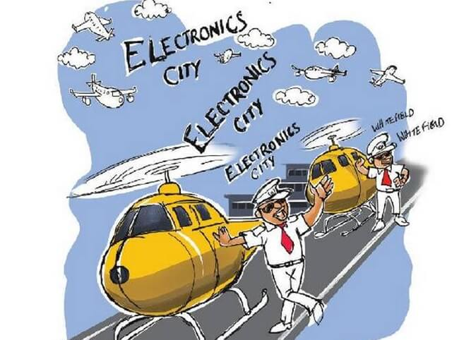 Bengaluru heli-taxi service, flights to Bengaluru, Bengaluru city news