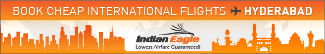 Indian Eagle travel coupons, Hyderabad cheap flights from USA, Telangana news